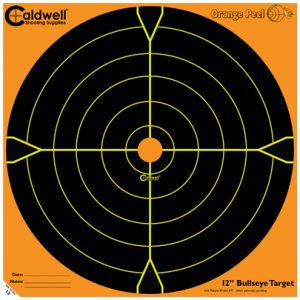 "Caldwell Måltavla Orange Peel 12"" Bullseye"