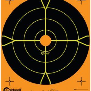 "Caldwell Måltavla Orange Peel 8"" Bullseye"