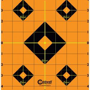 """Caldwell Måltavla Orange Peel 8"""" Sight-In Target"""