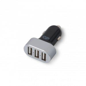 GP Billaddare med 3 USB-portar CC61
