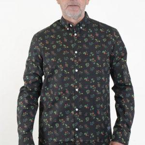 SQRTN Berry Longsleeve Shirt Black