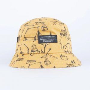 SQRTN Bucket Hat Into Mustard