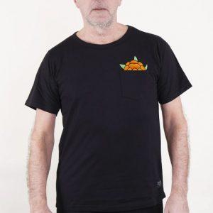 SQRTN CB Hideout T-shirt Black
