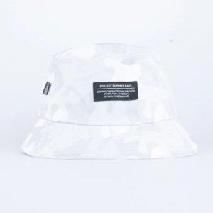 SQRTN Bucket Hat Grey Camo