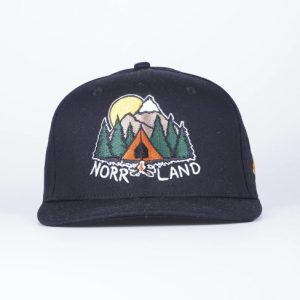 SQRTN Campsite Cap Black