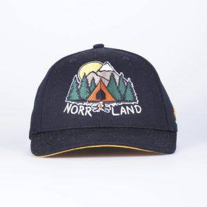 SQRTN Campsite Hooked Cap Black