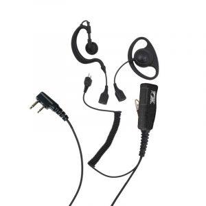 ProEquip PRO-U600L Headset, 3-i-1 Svart PTT