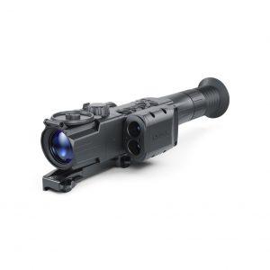 Pulsar Digisight Ultra N455 LRF Mörkersikte, Avstsåndsmätare med Weaver Snabbfäste