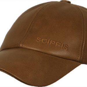 Scippis Baseballkeps i buffelläder