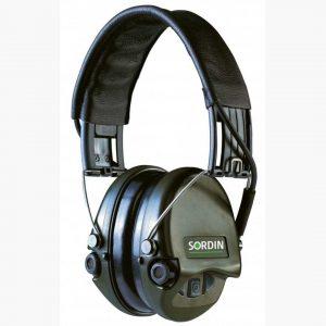 Sordin Supreme Pro X Green Leather