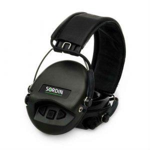 Sordin Supreme Pro X Black Leather
