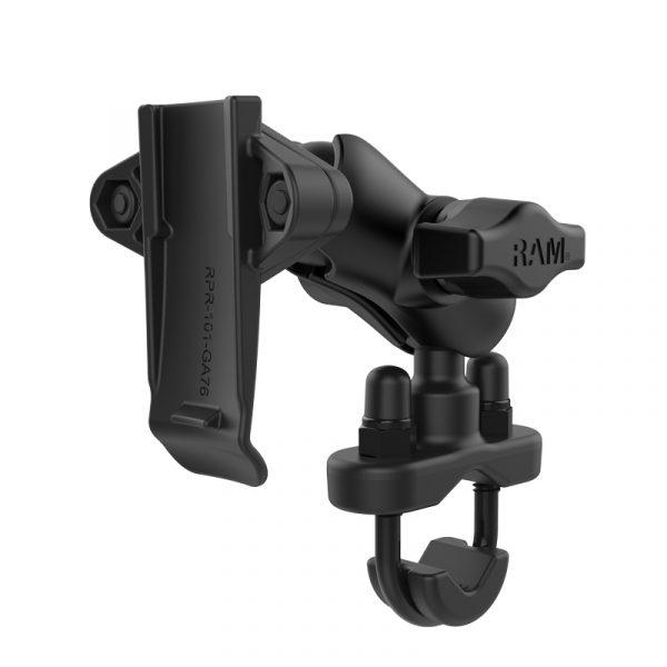 Hunter RAM Garmin-fäste med ryggklämma med styrbom U-bult