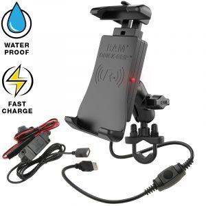 Hunter RAM Quick-Grip ™ Vattentät trådlös laddningsstyrmontering