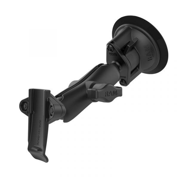 Hunter RAM Twist-Lock ™ sugkoppmontering med Garmin ryggradshållare