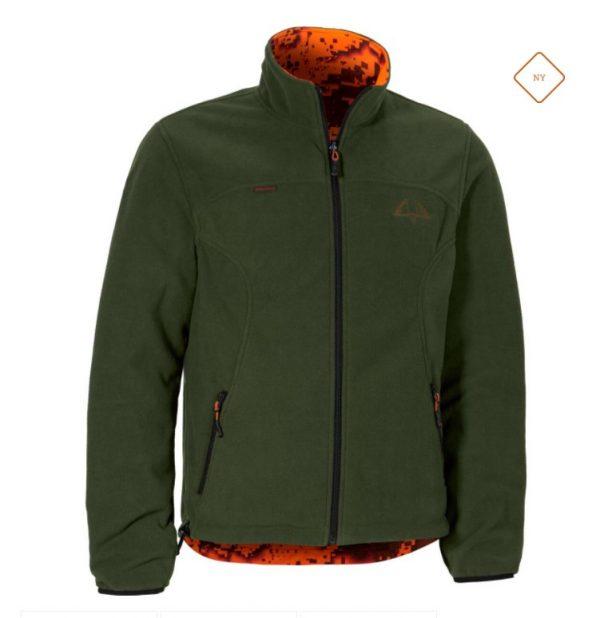 Swedteam Ridge Pro Vändbar Jacka DESOLVE® Green